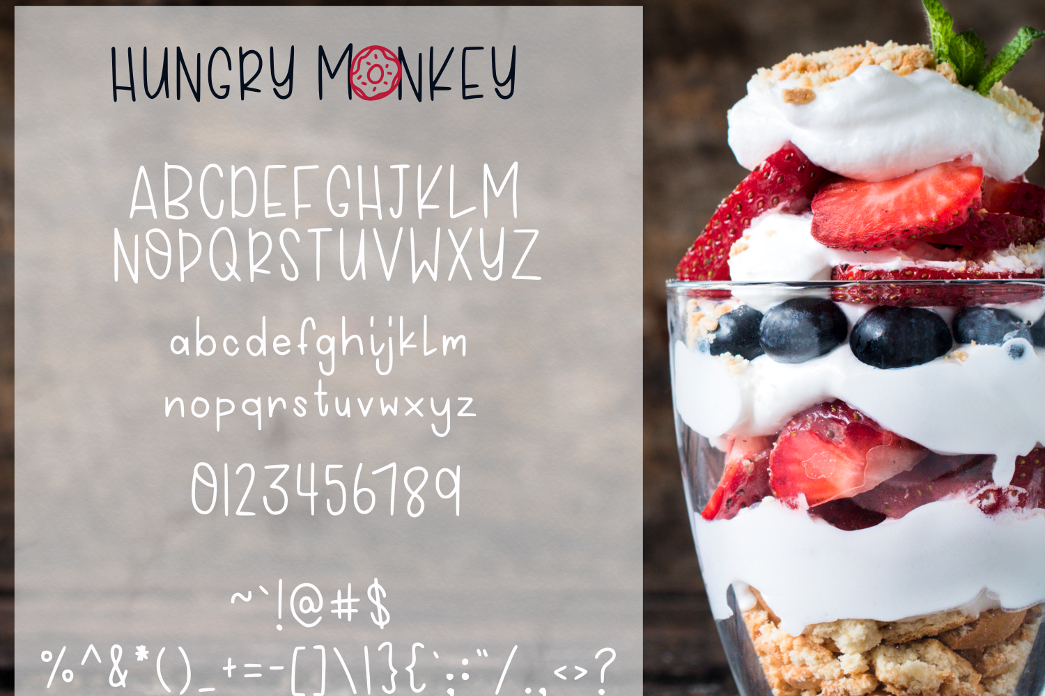 Hungry Monkey - Font Duo example image 5