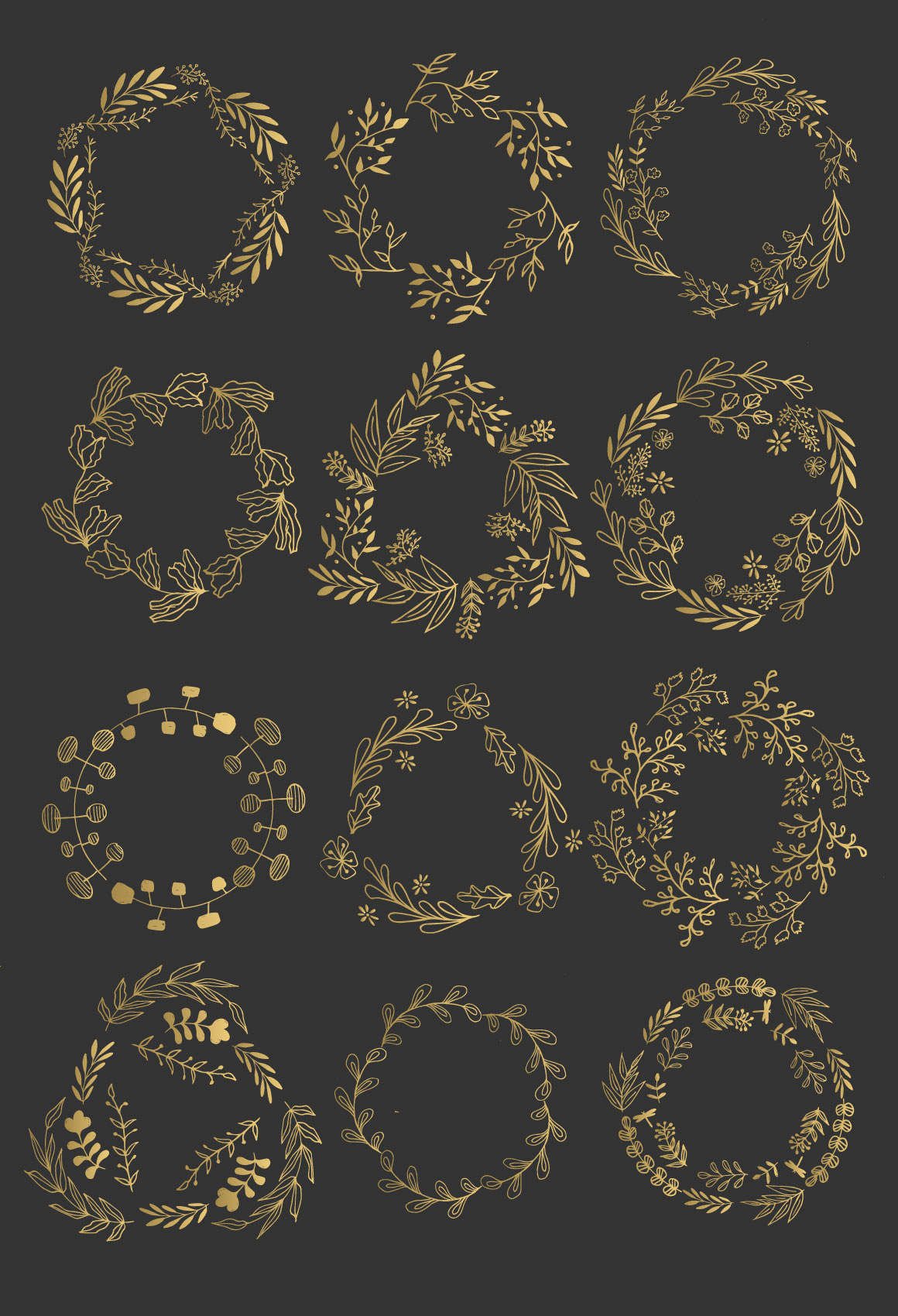 Wreaths and branches vol.2 example image 5