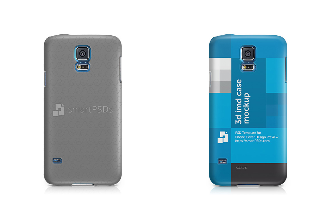 Samsung Galaxy S5 3d IMD Mobile Case Design Mockup 2014 example image 2