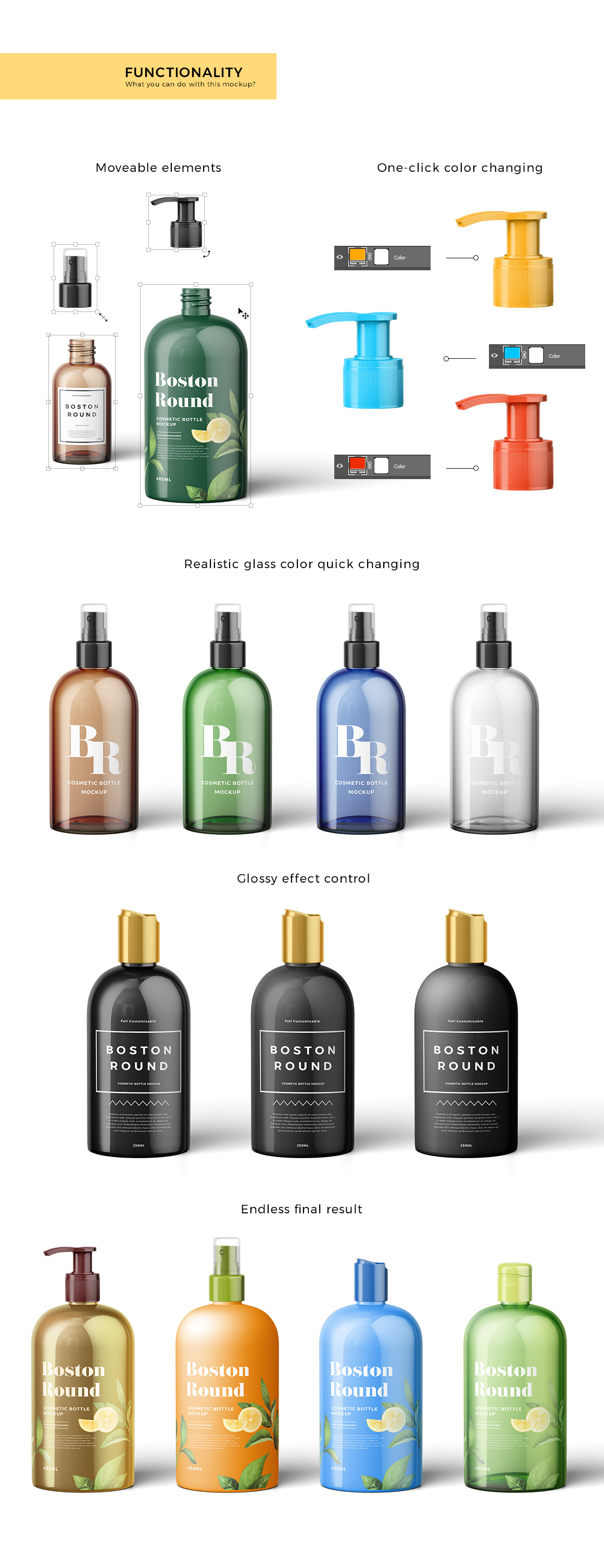 Cosmetic Bottles Mockup Vol.1 example image 3