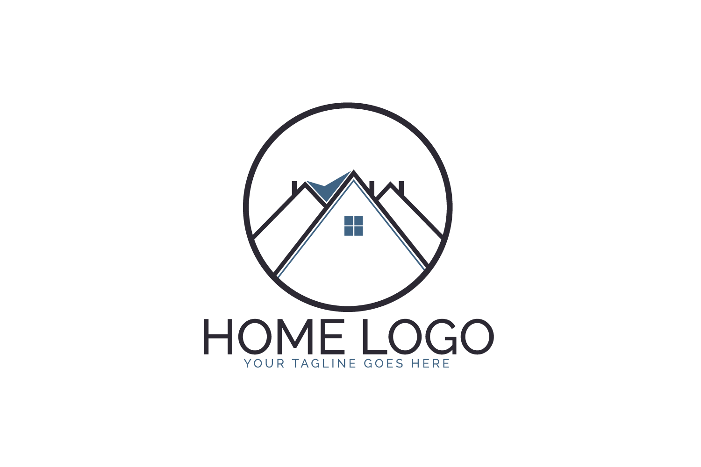 Home Logo Design. example image 2