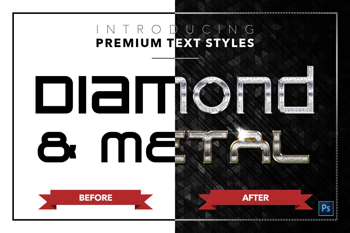 Diamond & Metal #3 - 18 Text Styles example image 20