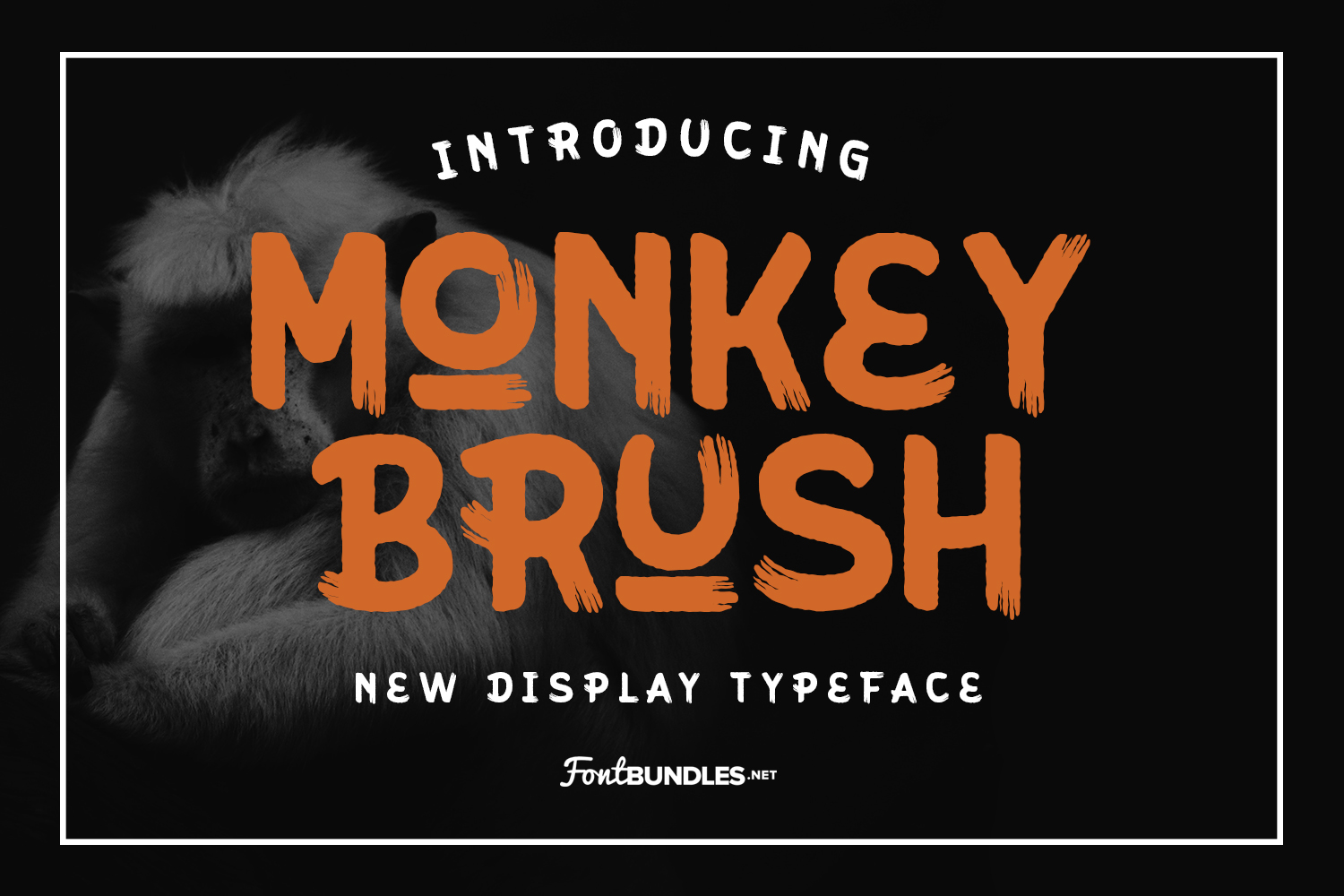 Monkey Brush example image 1