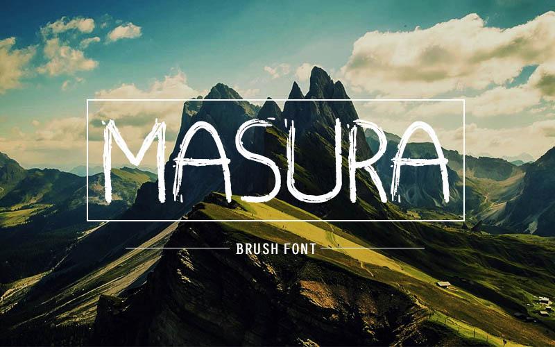 Masura Font example image 4