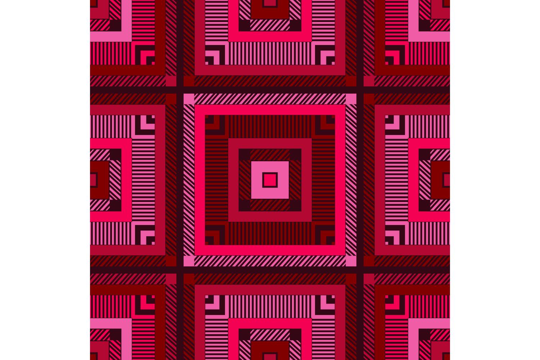 Tartan texture. Set of 10 seamless patterns. example image 7
