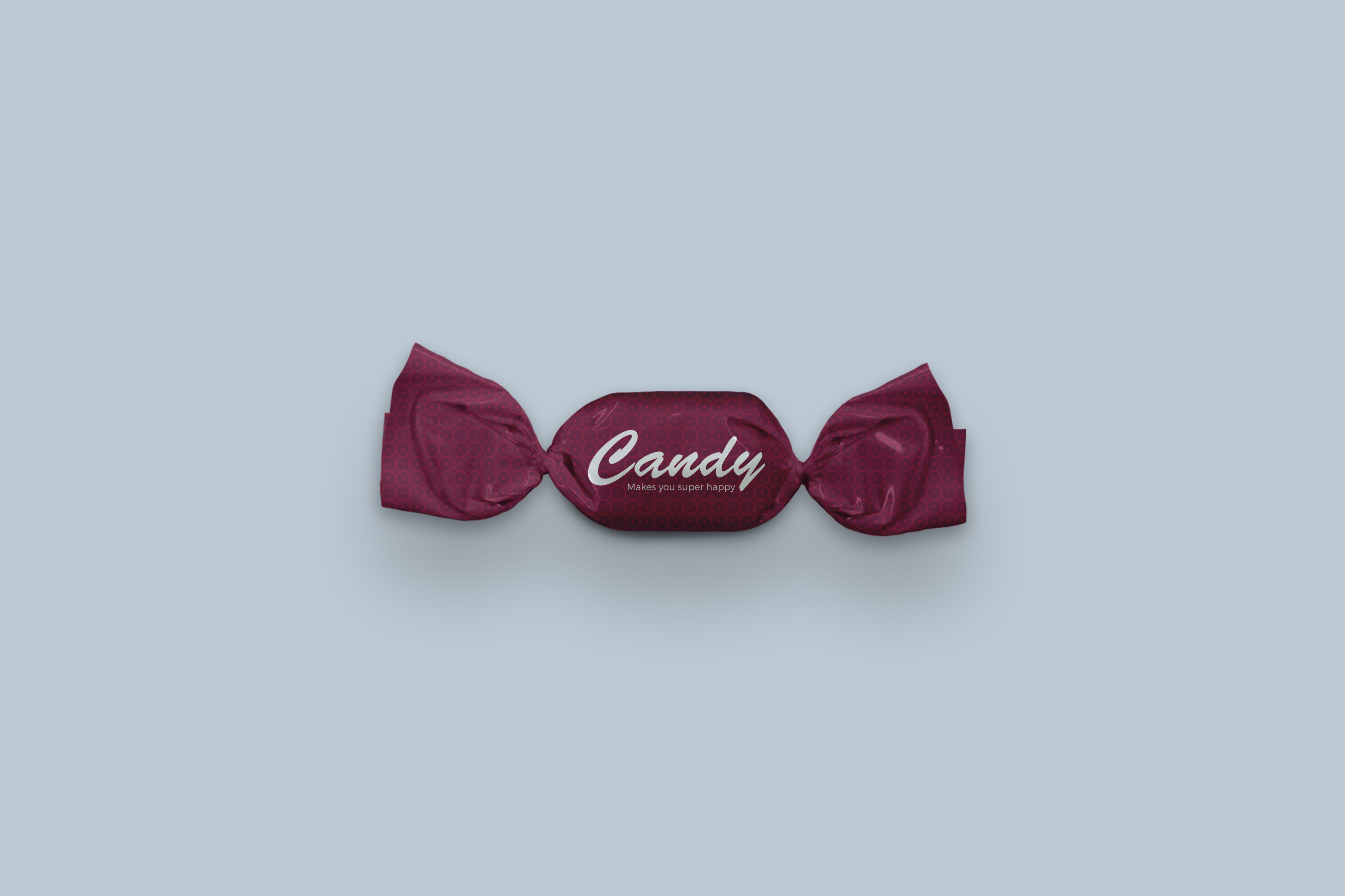 Candy Wrapper Mock-Ups Set example image 2