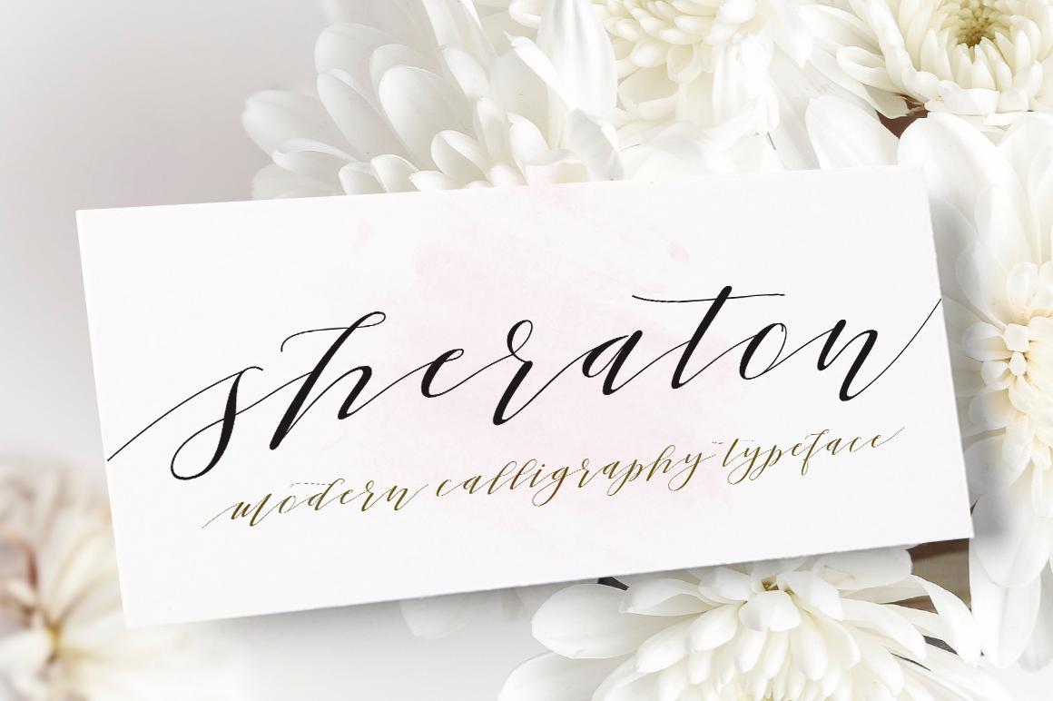 Sheraton Script example image 1