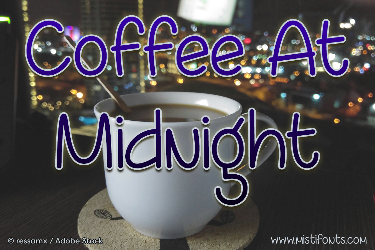 Coffee At Midnight example image 1