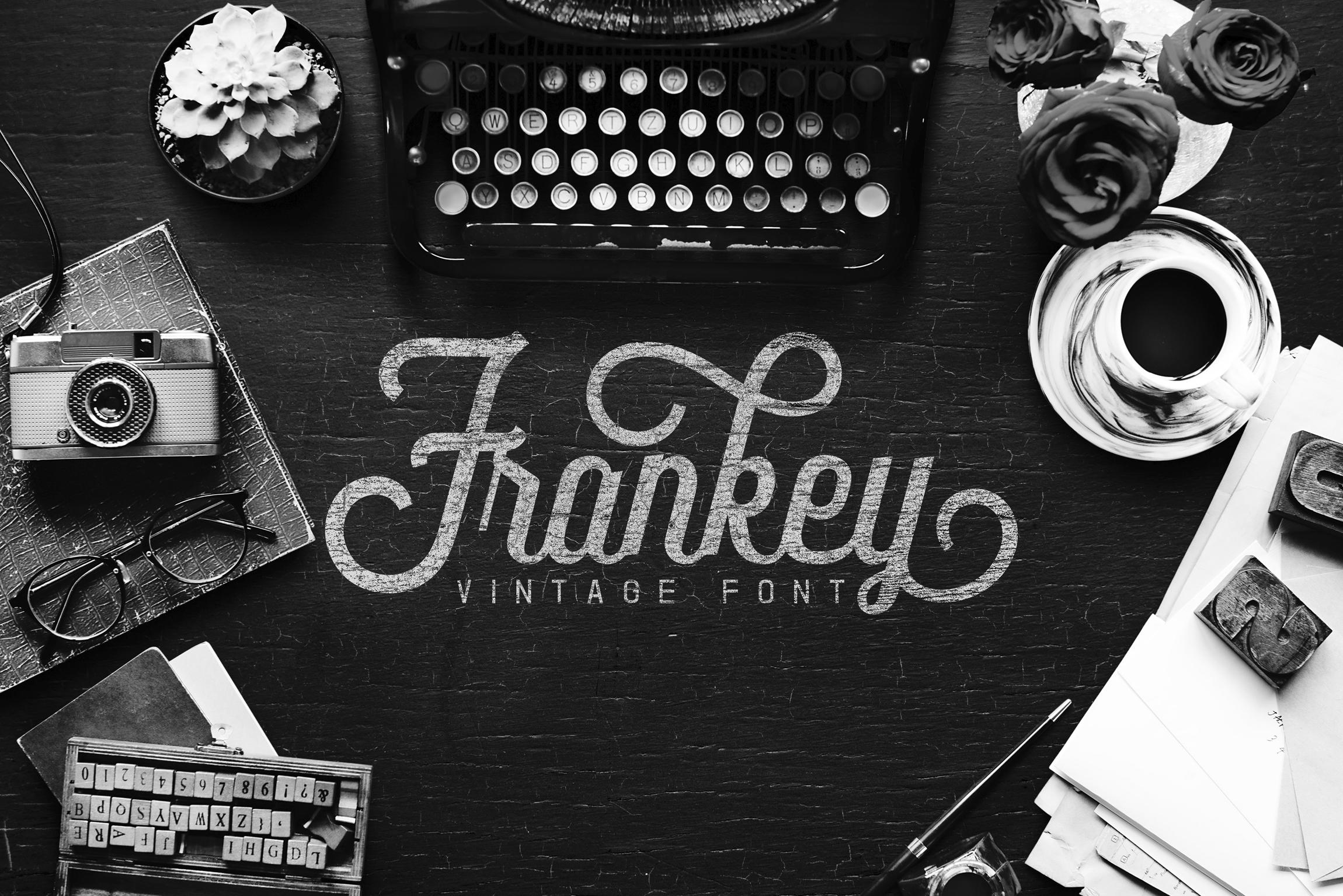 Frankey Vintage Font example image 1
