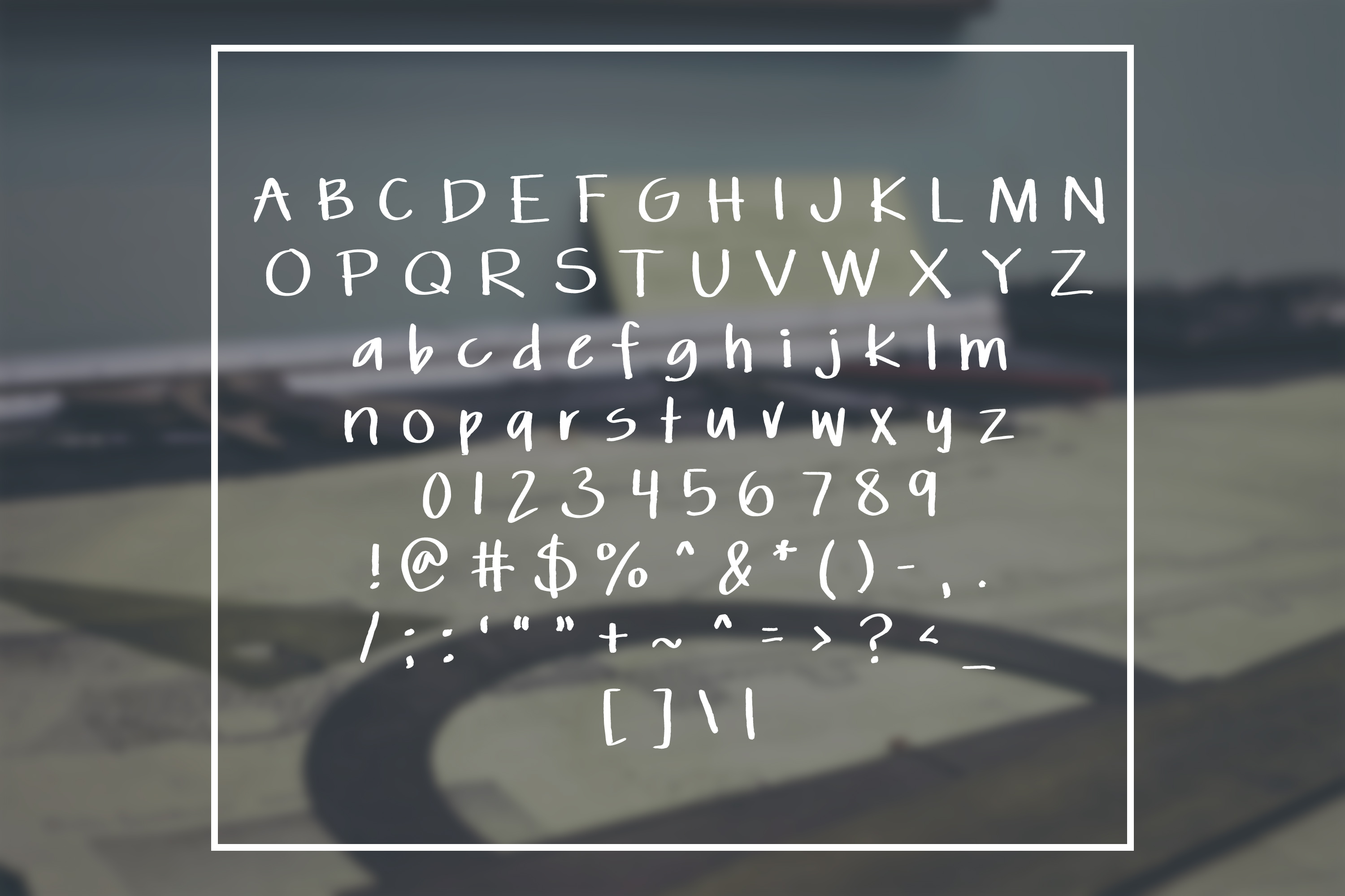 Classic Architect - a slightly distressed handwritten font example image 2