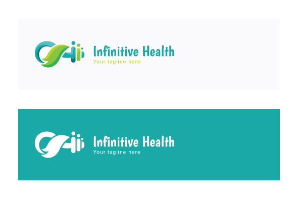 Infinitive Health - Nature & Fitness Group Stock Logo example image 2