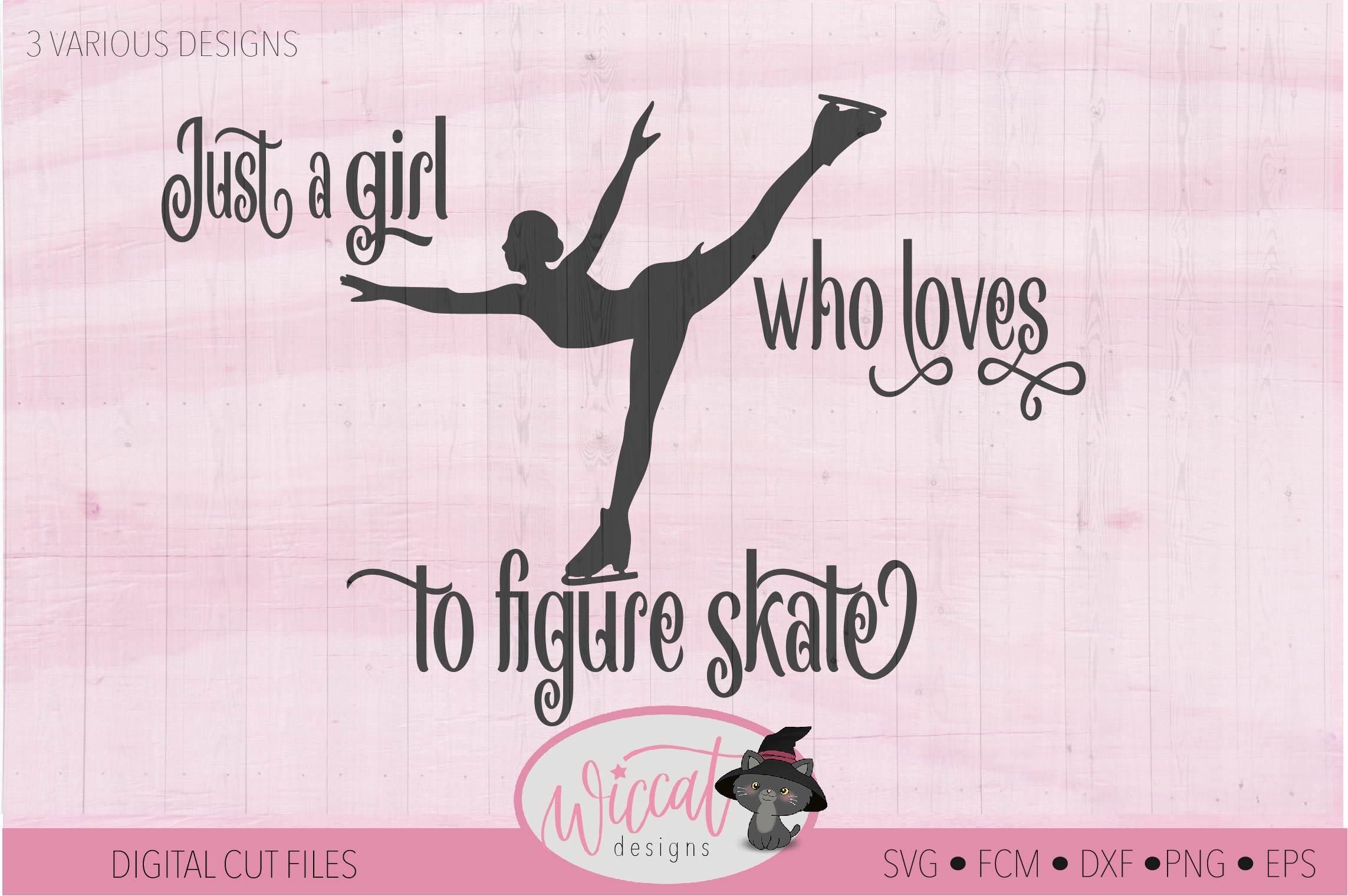 Girl loves Ice skating, Figure skates, winter sports example image 4