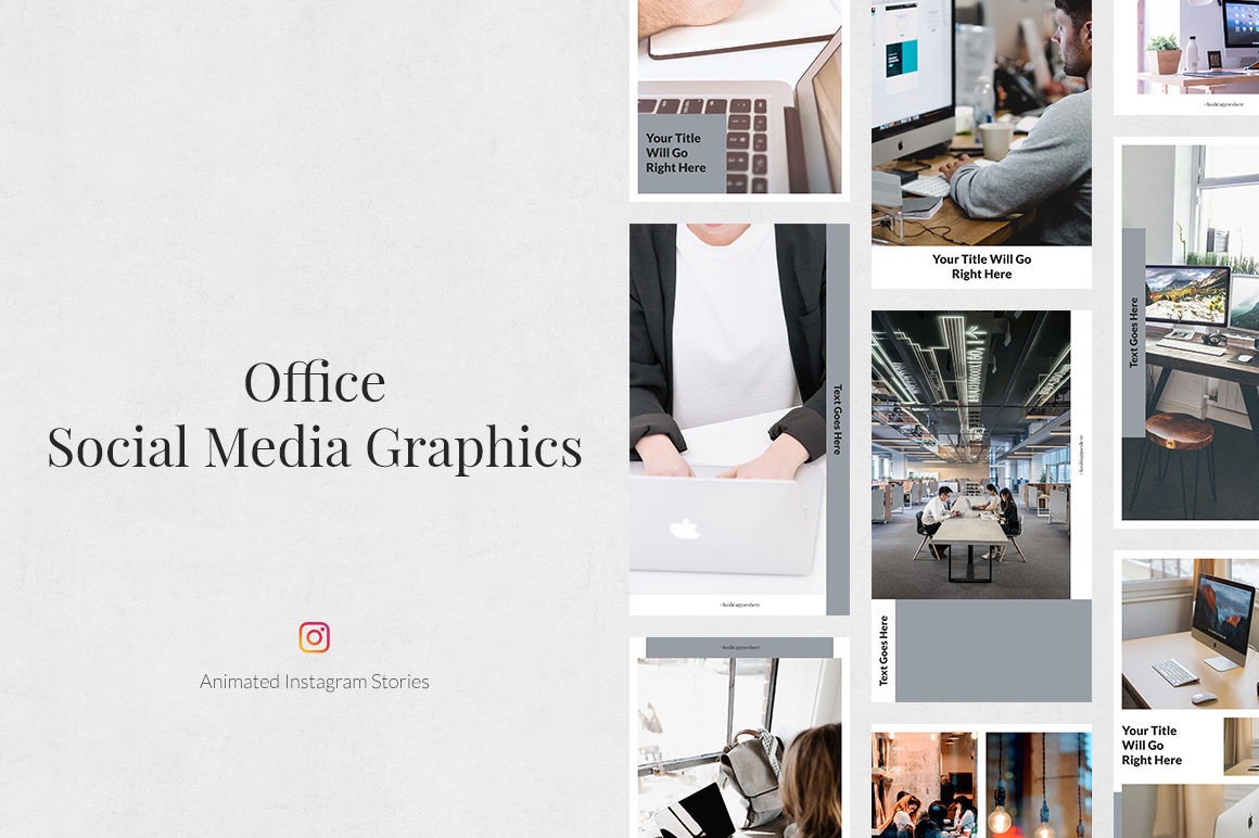 Office Animated Instagram Stories example image 1