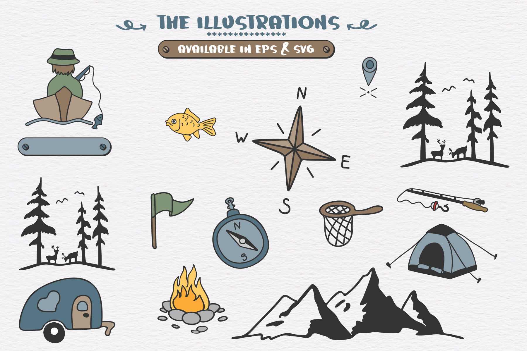 Mountain Journey - a Fun Font Duo example image 5