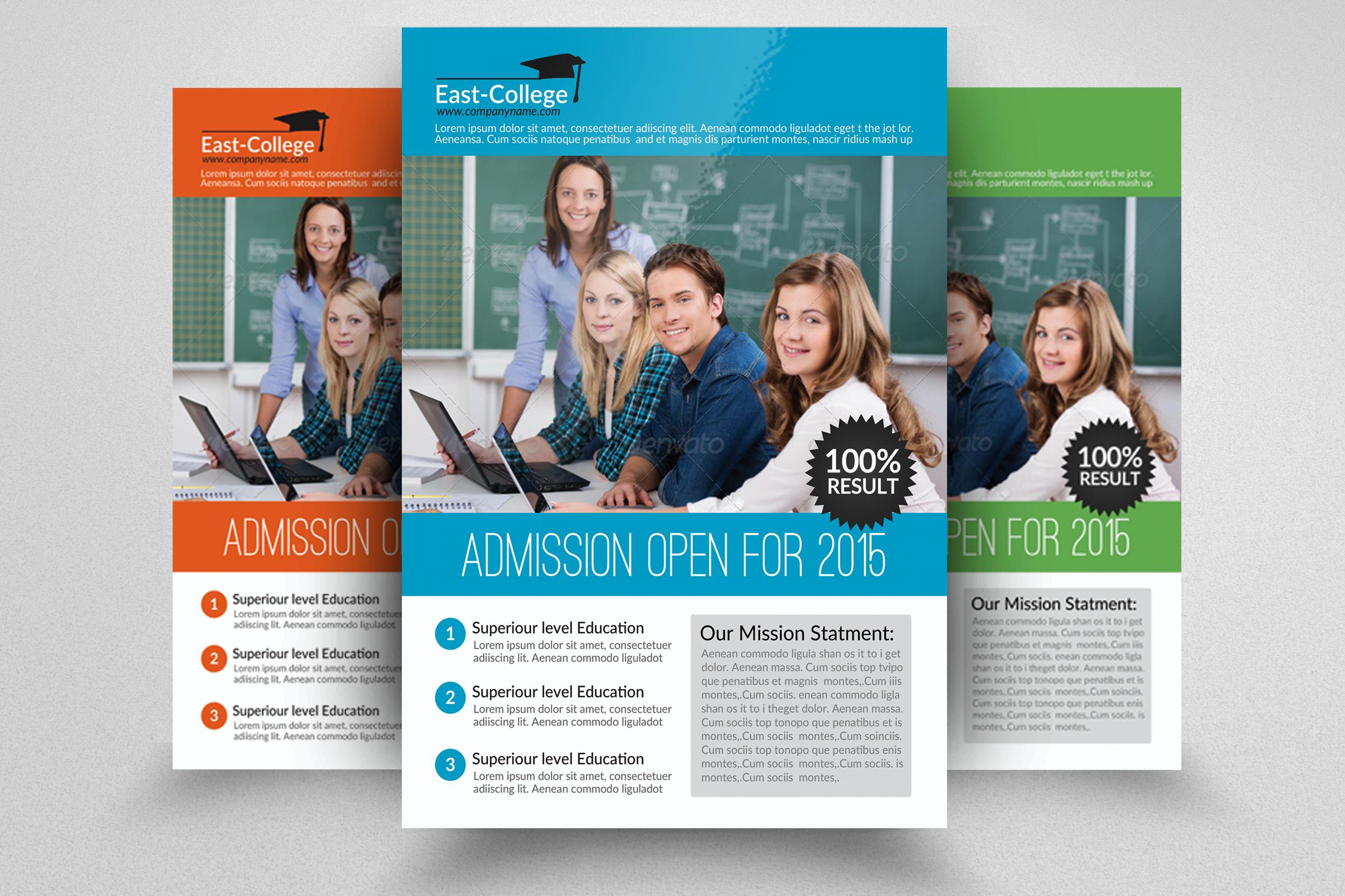 6 School Education Flyers Bundle example image 5