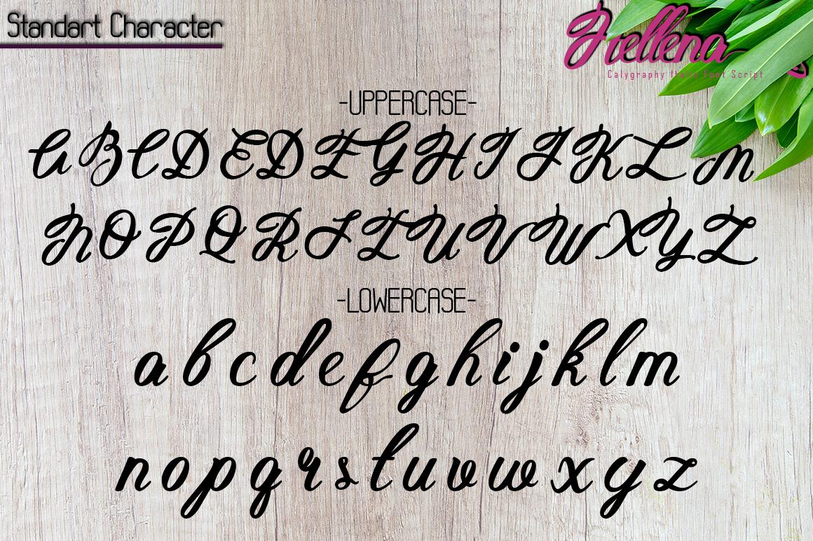 Hellena Italic-Calligraphy Italic Font Script example image 7
