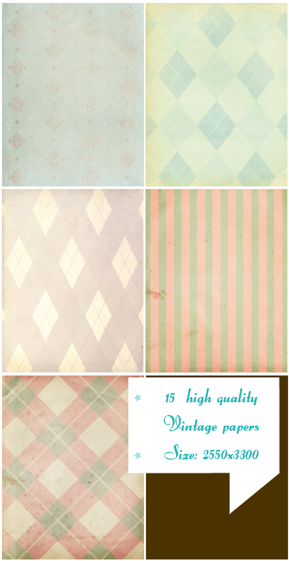 grunge papers texture pack example image 4