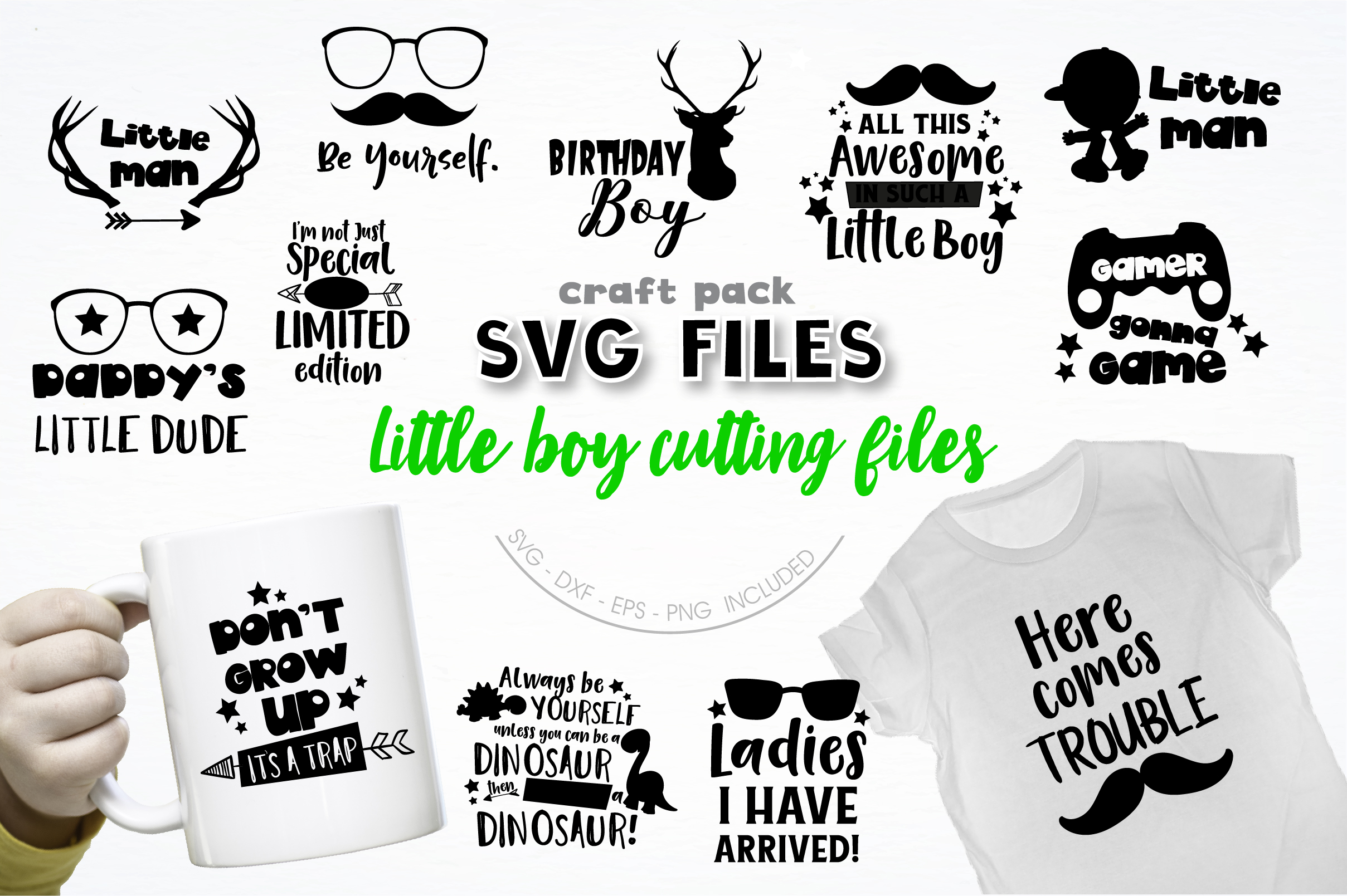 AMAZING SVG AND GRAPHIC BUNDLE- 550 in 1 example image 12