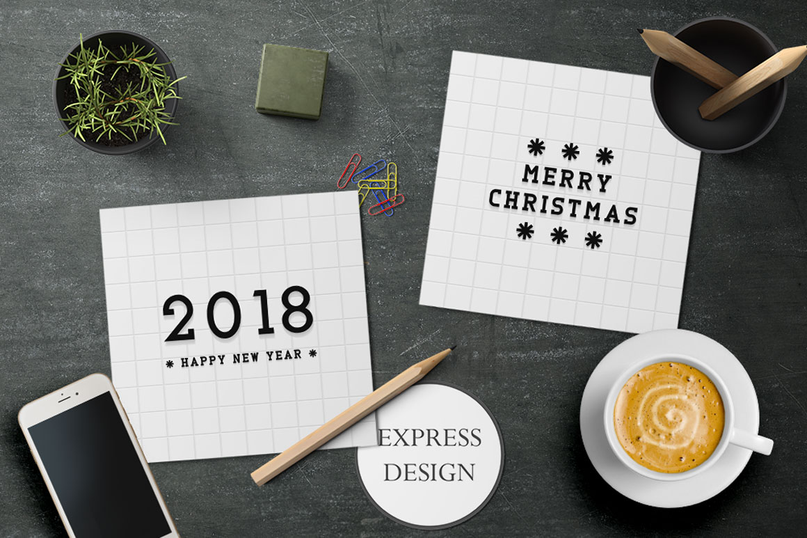 Creative Bundle of New Year posters example image 3