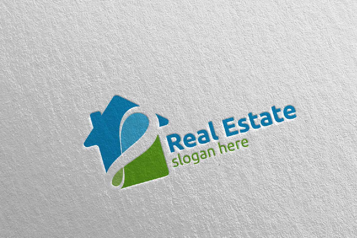 Real Estate Infinity Logo Design 40 example image 5