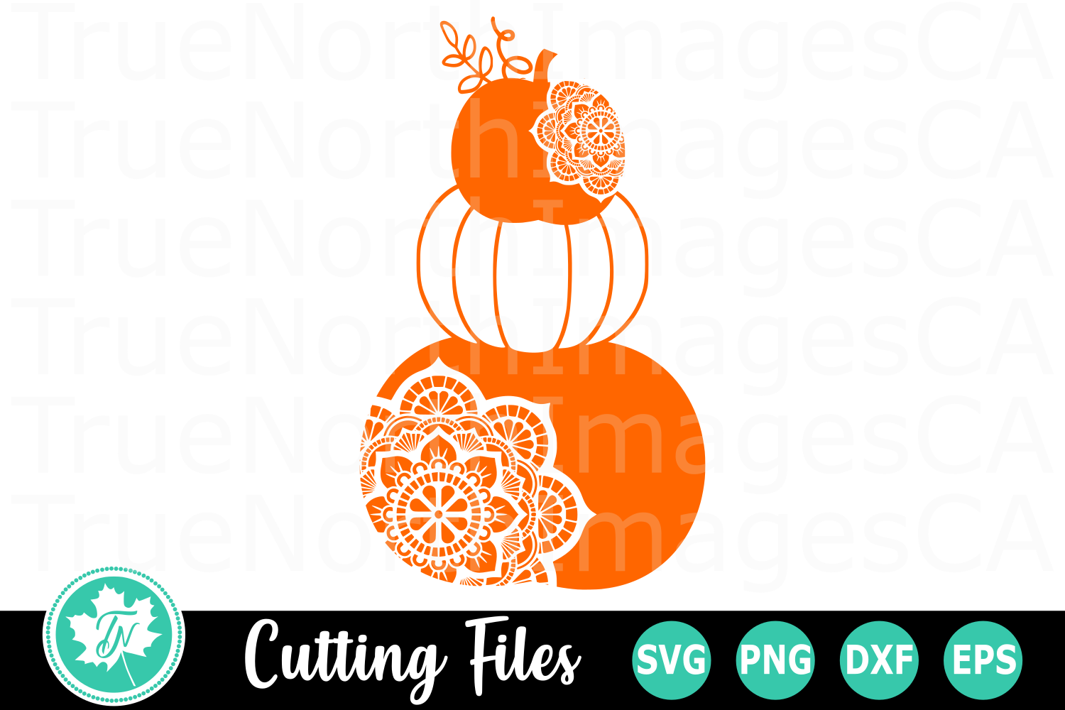 Pumpkin Stack - A Fall SVG Cut File example image 1