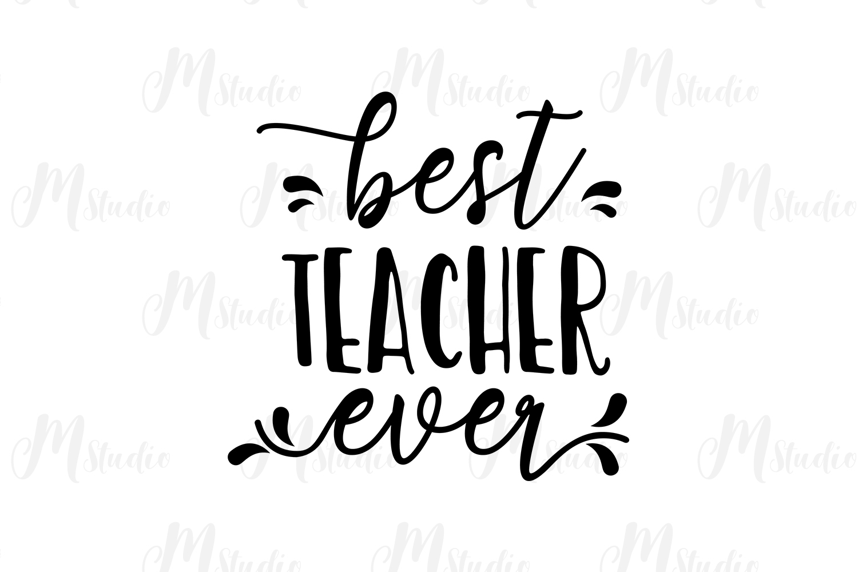 Teacher SVG Bundle. example image 6