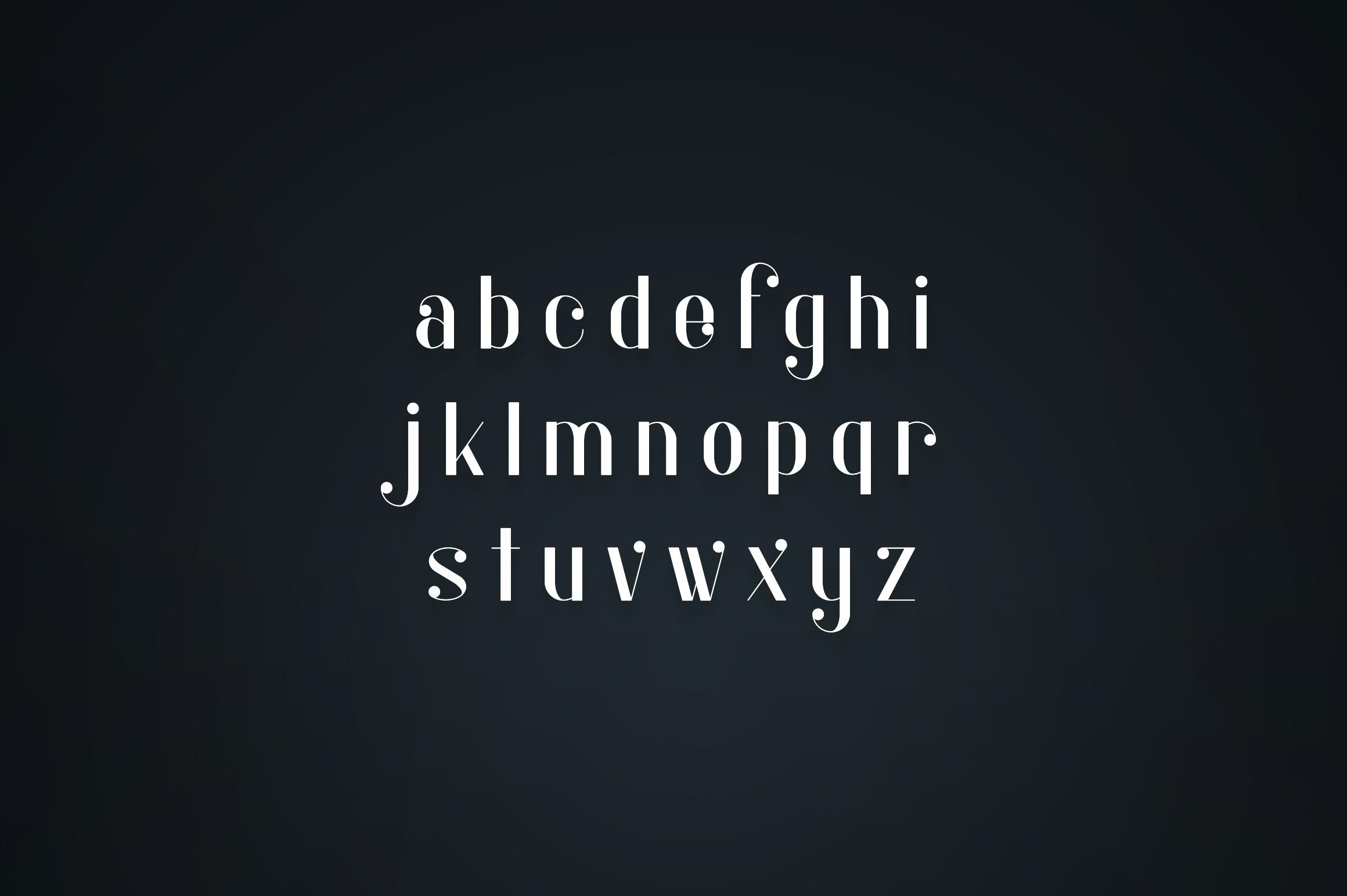Kocka Serif Font example image 4