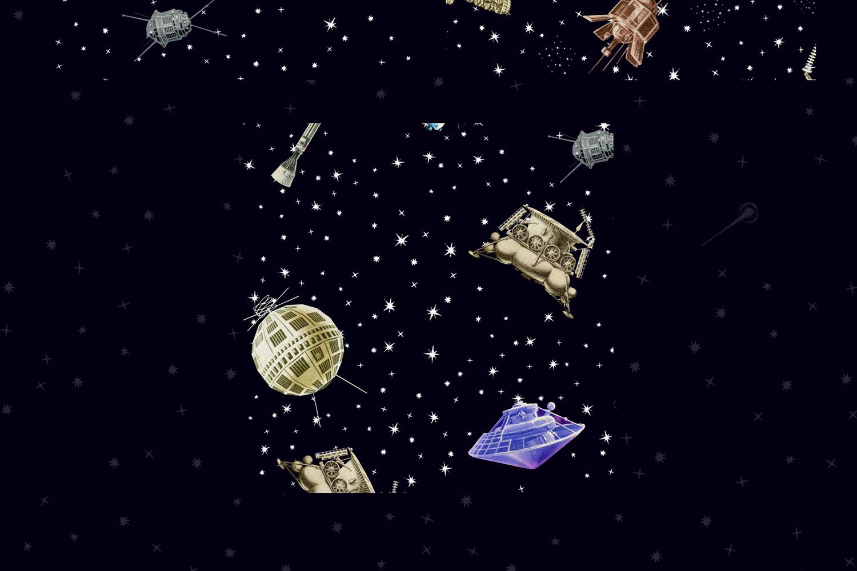 Gagarin - Patterns & Illustrations example image 13