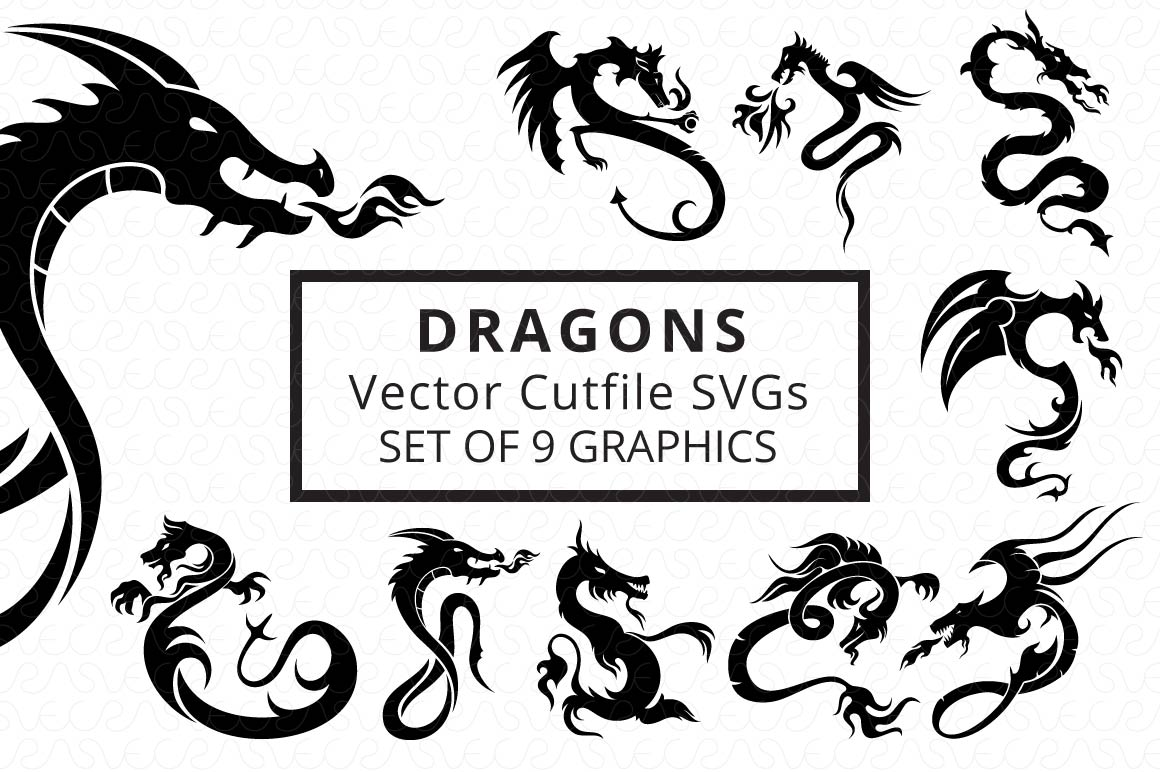 SVG Cutfiles Bundle-1 with 200 Unique Shapes example image 2