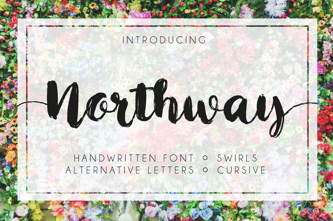 Northway Script example image 1