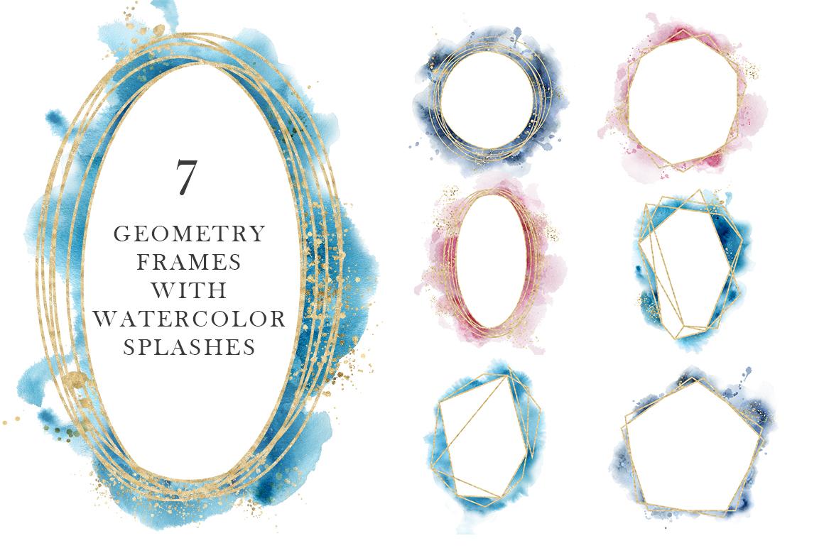 Ocean watercolor collection example image 12