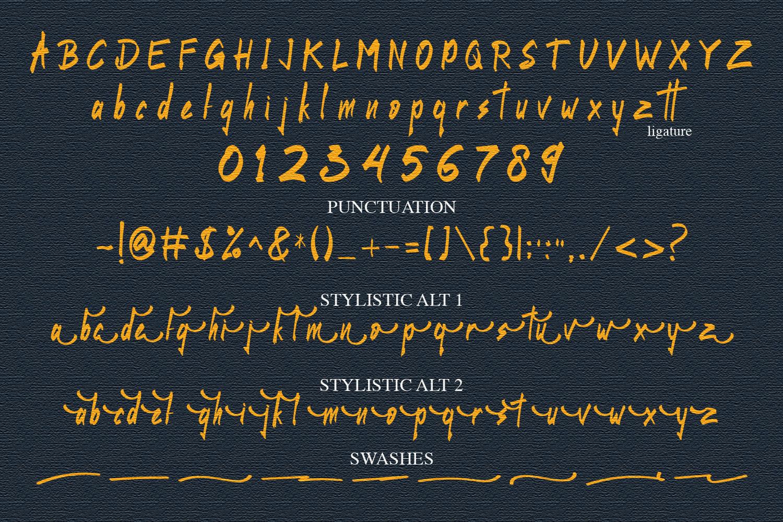 Bottamon Font Display example image 11