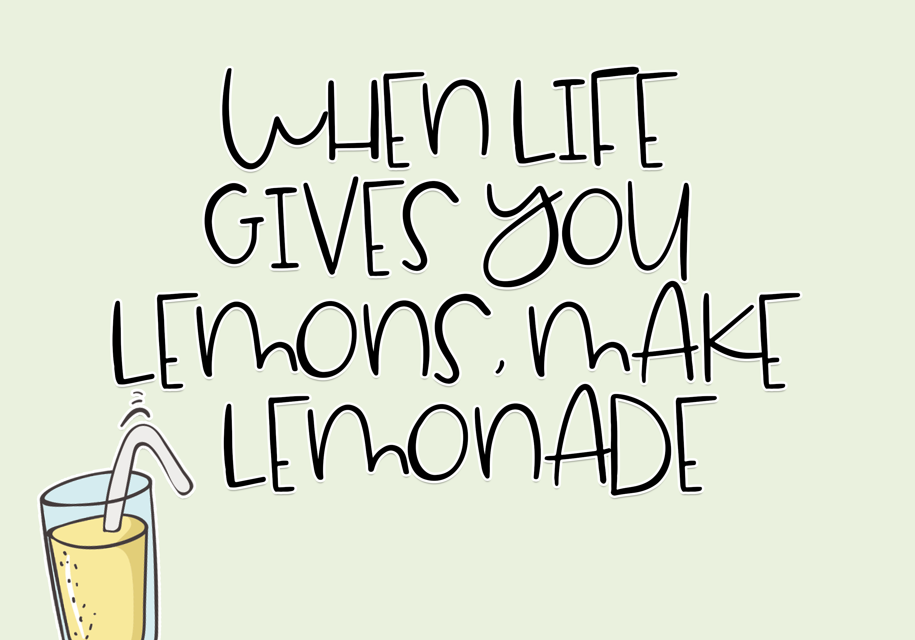 Lemondrop - A Cute and Quirky Font example image 2