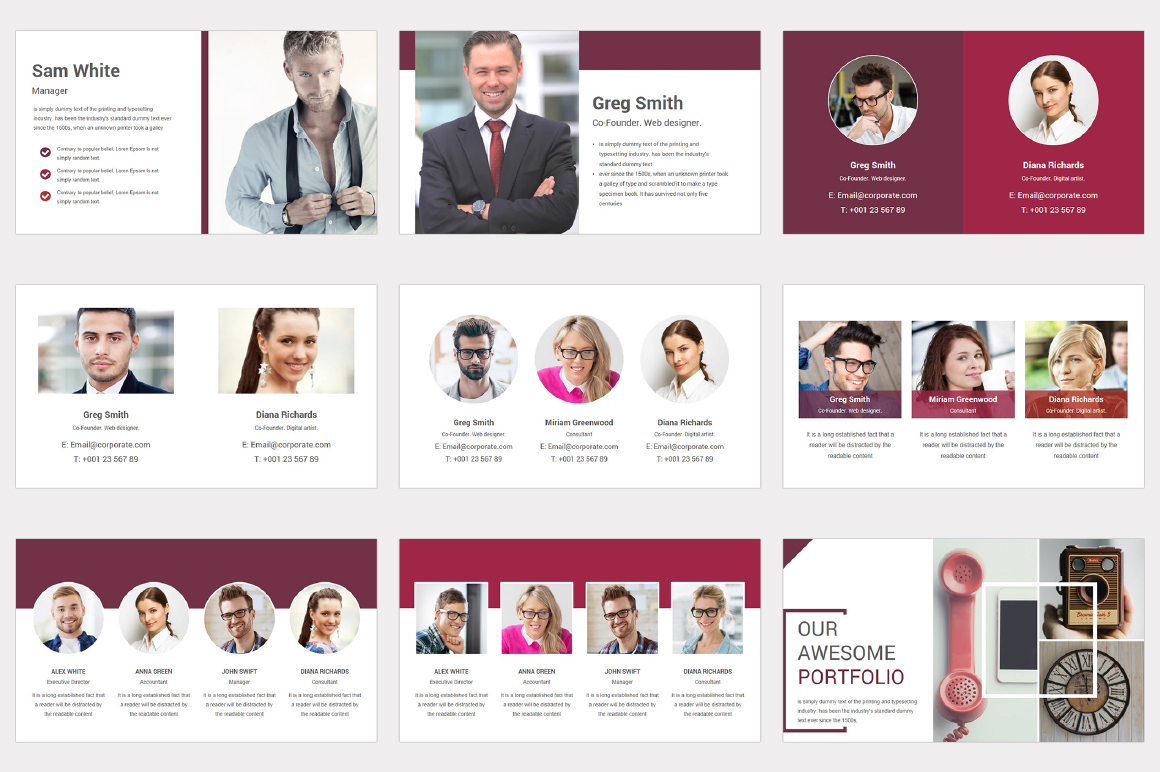 Varied multipurpose PowerPoint Presentation Template example image 6