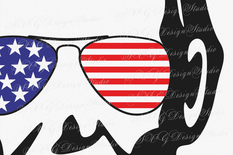 Abraham Lincoln Head, SVG Vector file, Abraham Lincoln svg,  Lincoln head Sunglasses svg, Fourth of July Patriotic SVG Sunglasses Svg Glasses Svg example image 2