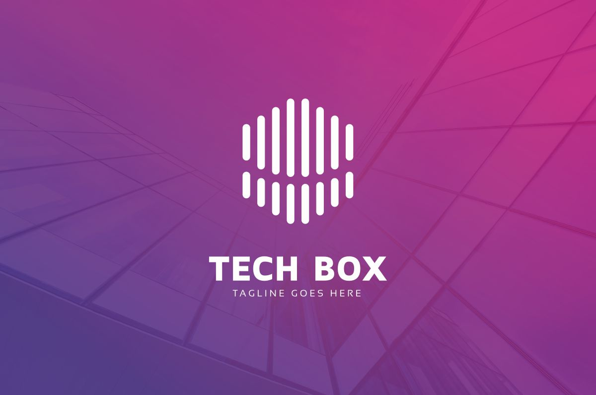 Tech Box Logo example image 2