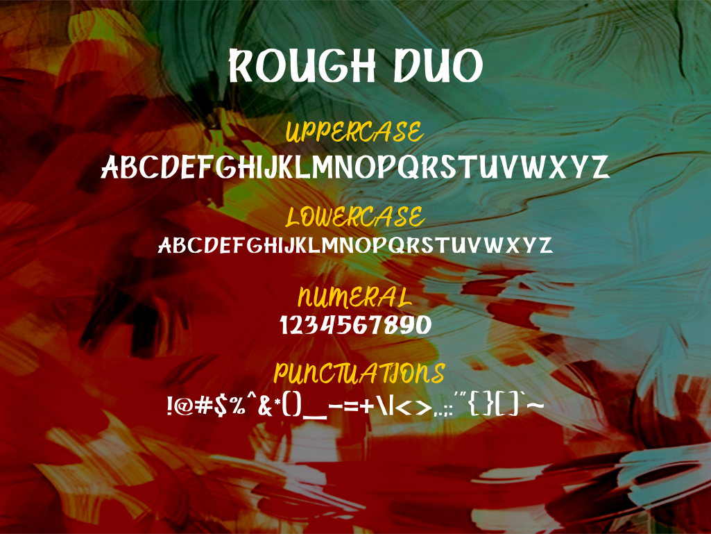 Rough Sketch - fonts duo example image 8