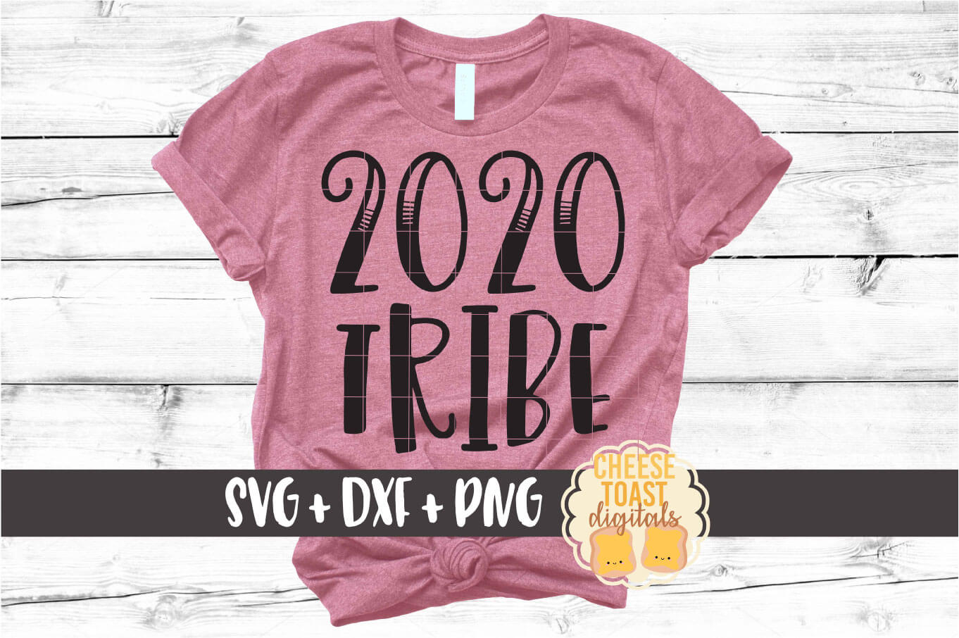 2020 Tribe - New Year SVG PNG DXF Cut Files example image 1