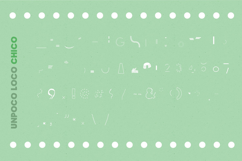 Unpoco Loco™ - 4 Layered Fonts example image 12