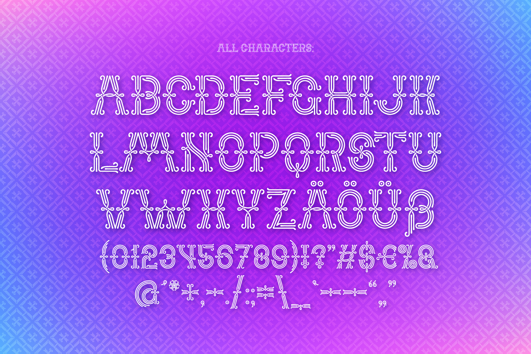 Forged Fence Typeface example image 3