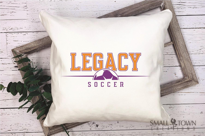 Legacy, Soccer, Sports, Team, logo, PRINT, CUT & DESIGN example image 3