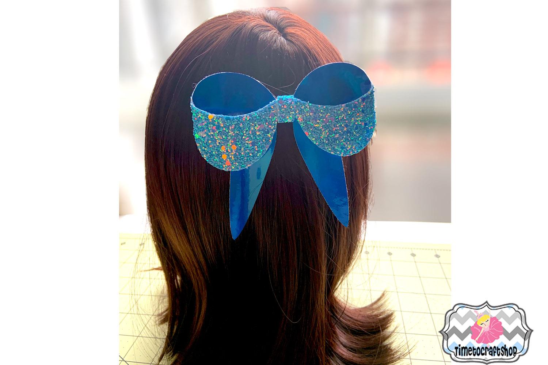 3D Sailor Hair Bow Template Felt Hair Bow example image 2