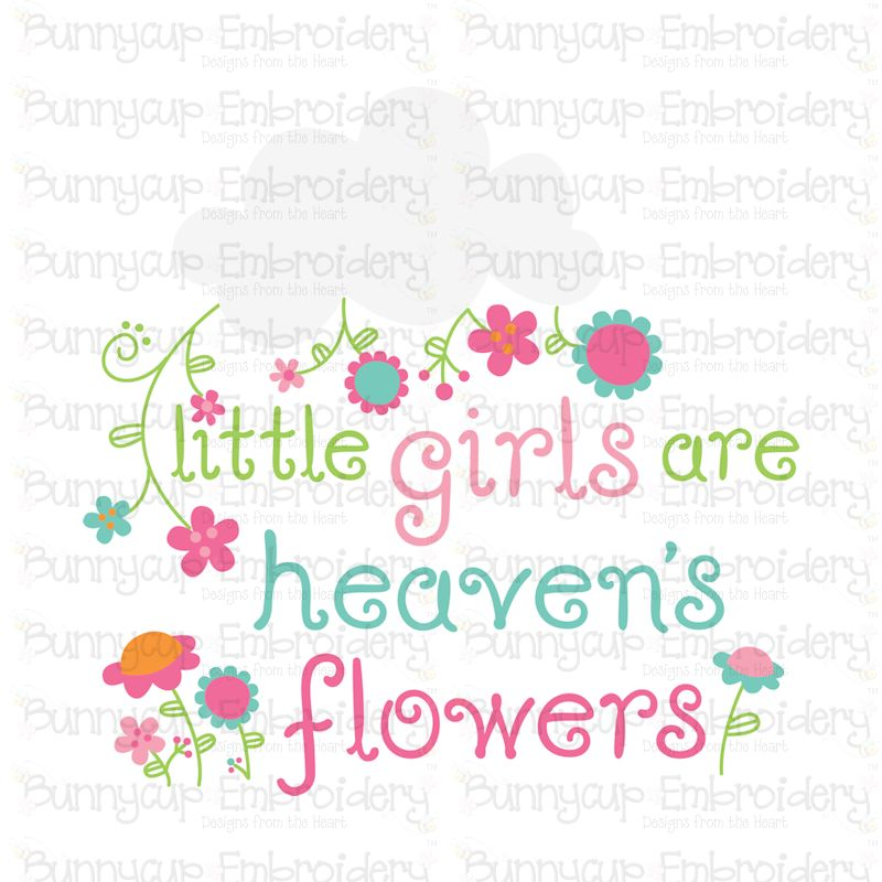 Baby Girl Sentiments- SVG, Cut Files, Clipart, Printables example image 6