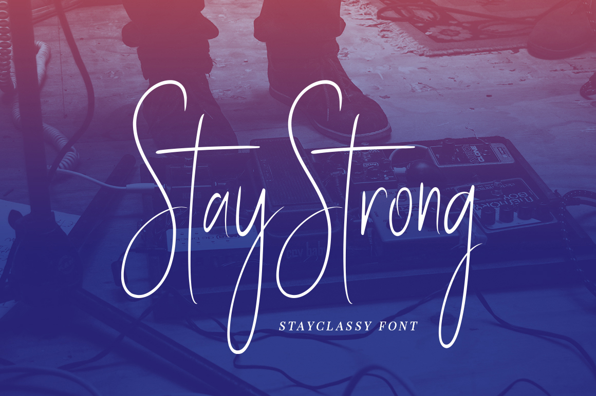 Stay Classy - Font Family example image 13