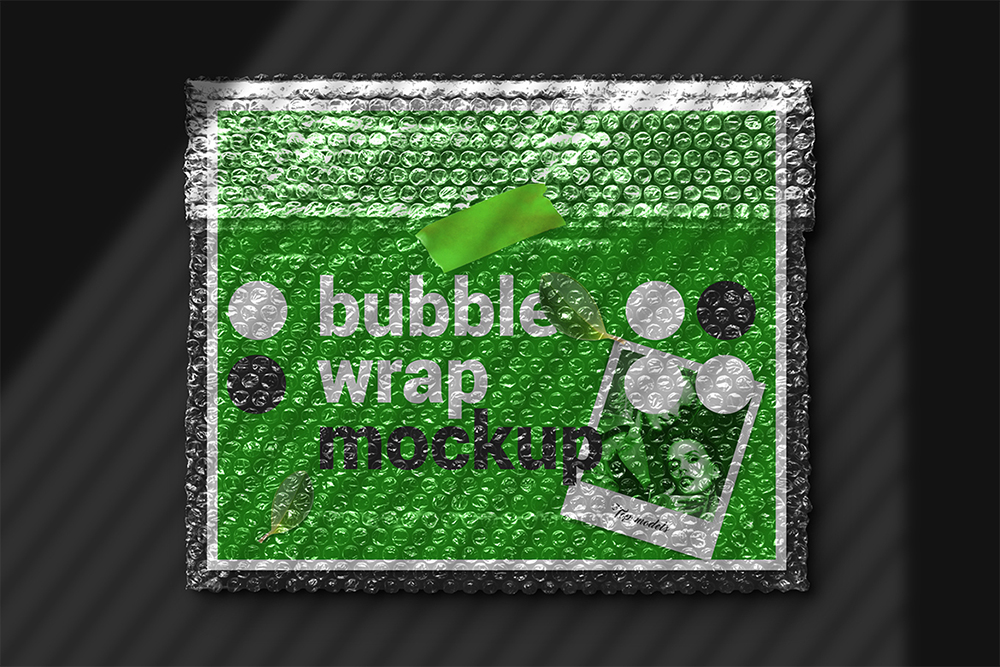 Bubble Wrap Mockup example image 5