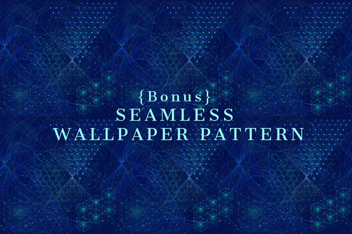 {Sacred Geometry} Raster Backgrounds example image 4