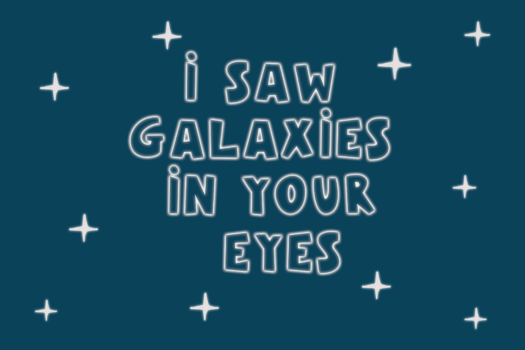 Galaxy Color Bitmap Font example image 4