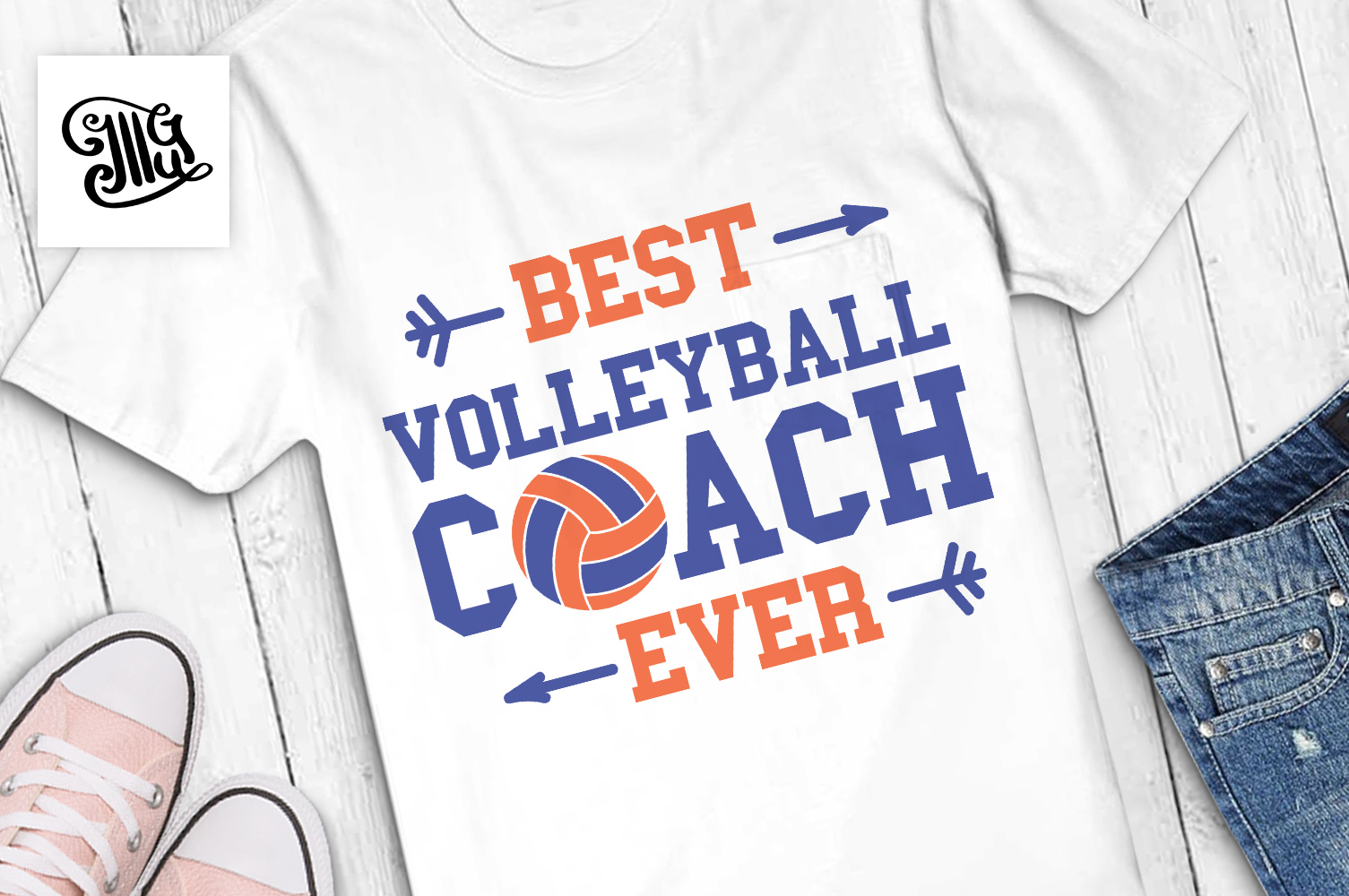 Volleyball svg bundle example image 3