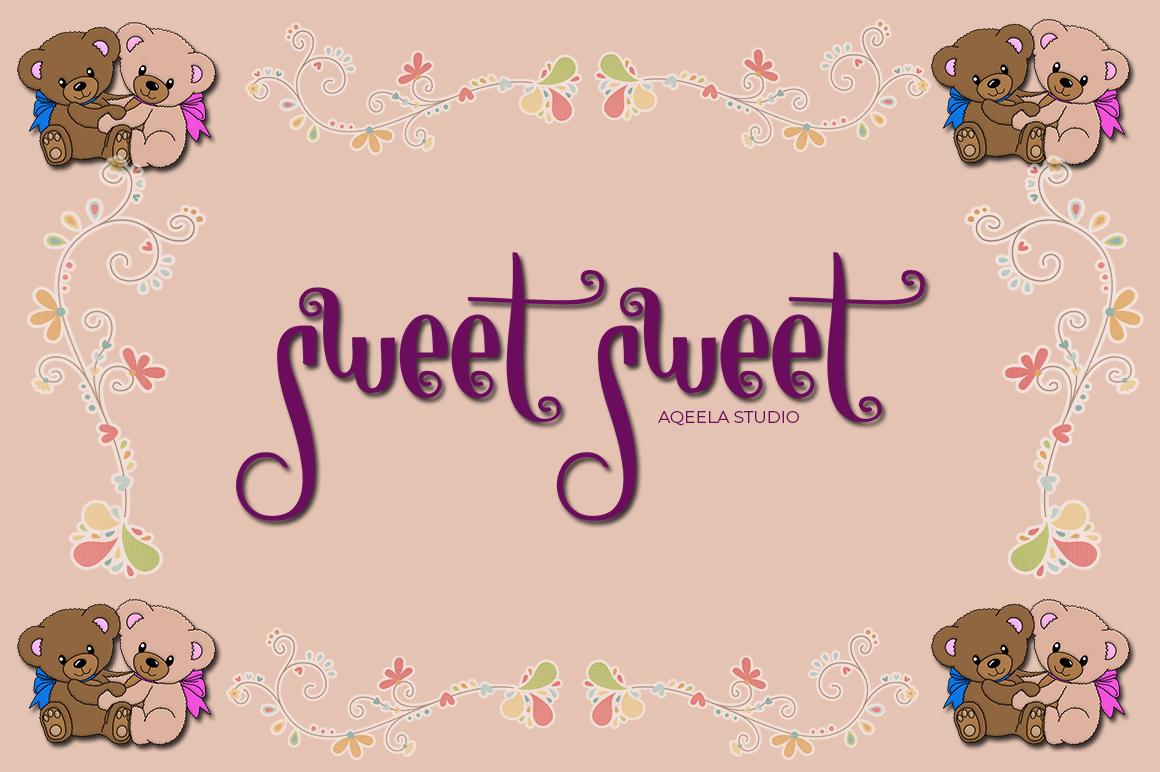 sweet sweet example image 1