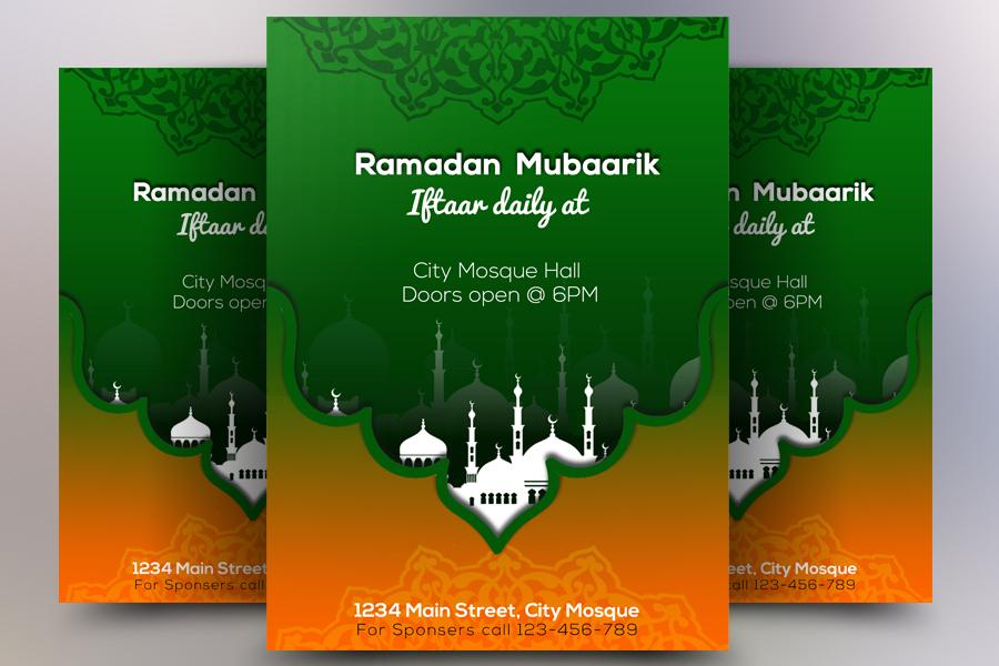 Ramadan Iftar Flyer example image 1